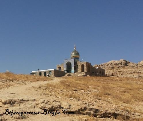 مرتفع ترین امام زاده - عکس از تختی
